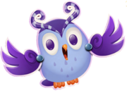 Odus is the main mascot of dreamworld odus is the owl that carries