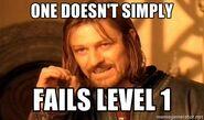 Fail level 1 meme