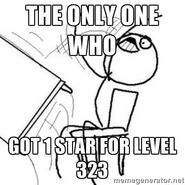 Only one who got 1 star