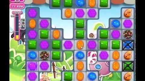 Candy Crush Saga Level 458, 516K Points, 3 Stars