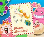 Misty's birthday poster