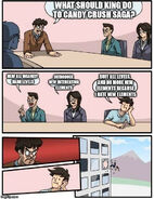 Boardroom meeting suggestion - improve Candy Crush