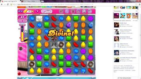 Candy Crush Saga level 389 over million points game 3 STARS