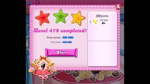 Candy Crush Saga Level 479 ★★★ NO BOOSTER