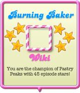 Burning Baker