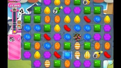 Candy Crush Saga Level 245 ( New with 25 Moves ) No Boosters 1 Star