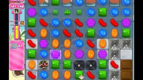 Candy Crush Saga Level 123 ( New Version ) No Boosters 3 Stars
