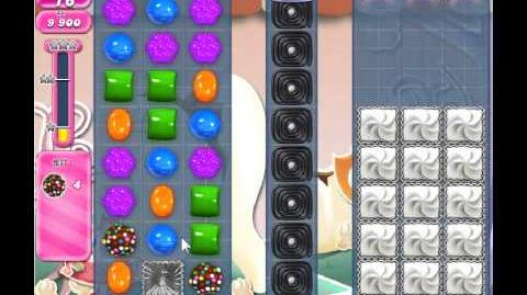 Candy Crush Saga Level 341 - 1 Star - no boosters