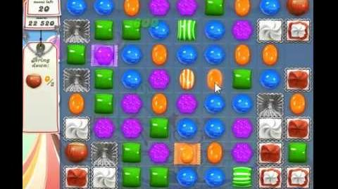 Candy Crush Saga Level 185 - 2 Star - no boosters