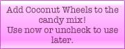 Coconut Wheel booster description