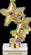 Hardest Level in Dreamworld to Earn 3 Stars
