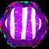 Striped purple v