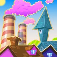 Candy Town background