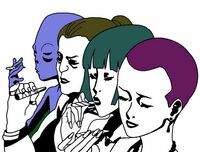 Intergalactic cannabis women
