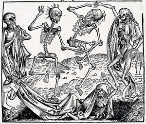 Dance of Death by Michael Wolgemut (1493)