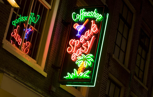 File:Amsterdam coffee shop sign.jpg