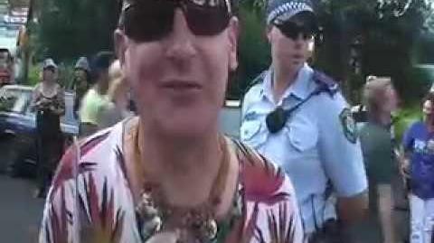 Nimbin Mardi Grass 2009 Pt2 Police harassment