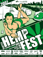 Seattle 2007 Hempfest