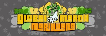 Global Marijuana March 3