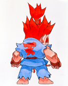 SPFIITurbo Akuma Back