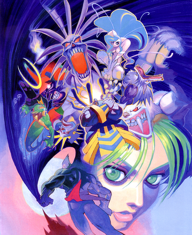 File:Darkstalkers Night Warriors Art.png
