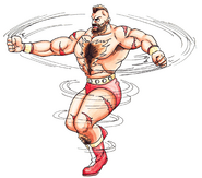 Zangief Double Lariat