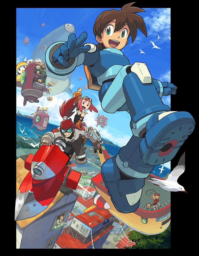 Request Mega Man Legends MegaMan Volnutt by Krukmeister on