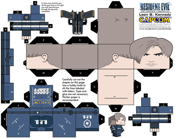 File:Cubee Craft - Leon S. Kennedy - RPD.jpg