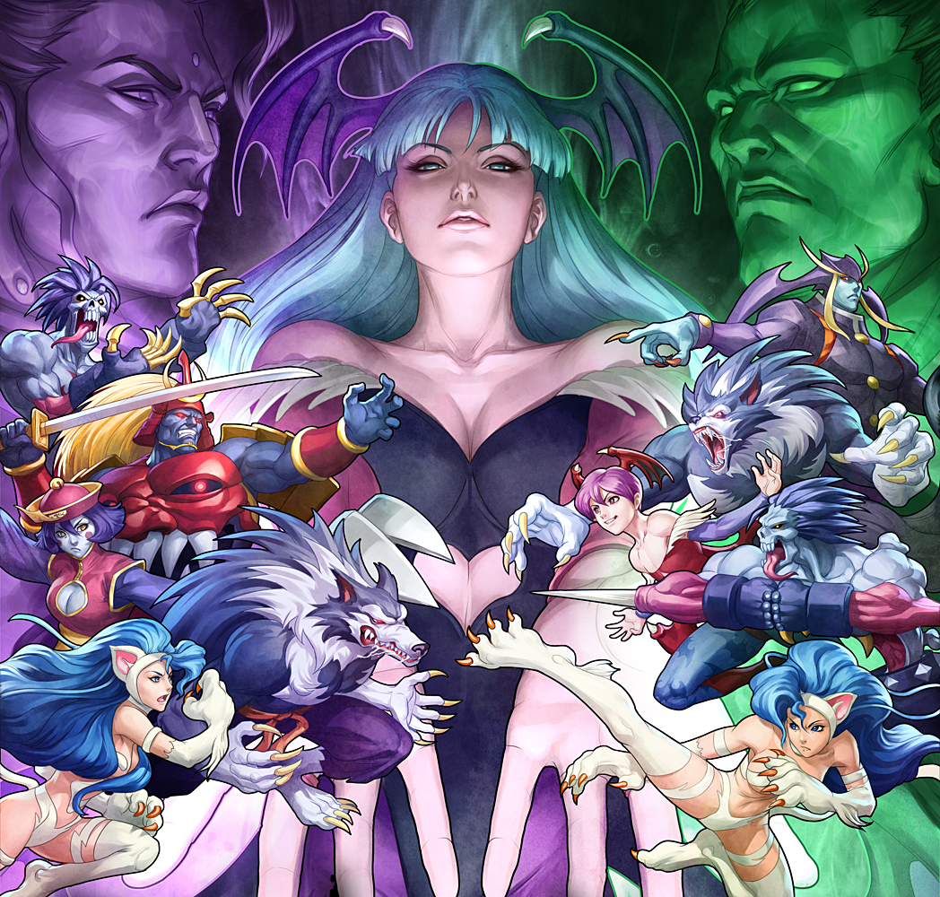 The series is notable for its  Darkstalkers