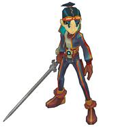 BoFDQ Ryu Render