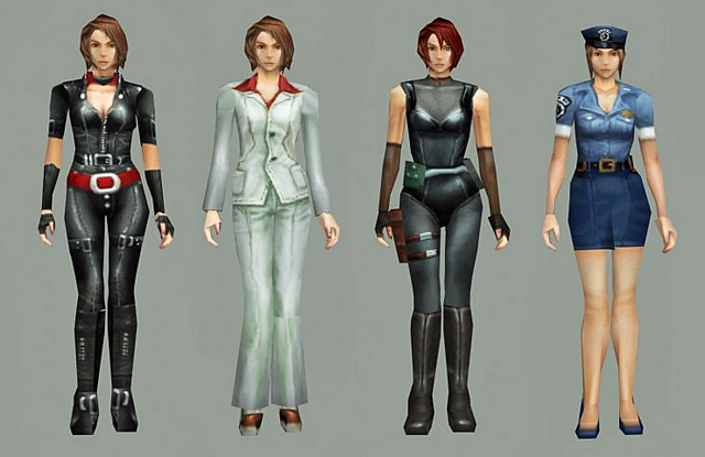 File:RE3JillAlternateCostumes.png