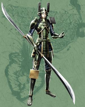 BASARA 4 Katsuie Shibata