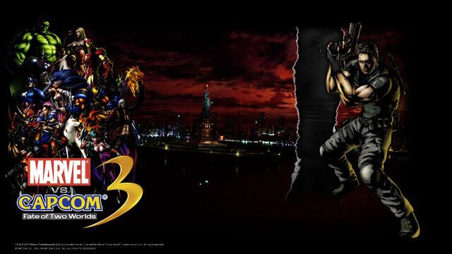 File:Marvel Vs Capcom 3 wallpaper - Chris Redfield.jpg