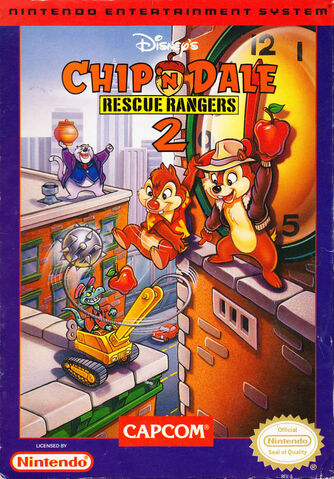 File:Chip 'n Dale- Rescue Rangers 2 NA cover art.jpg