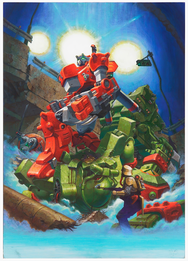 File:Armored Warriors Art.png