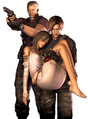 RE Darkside Krauser Manuela and Leon