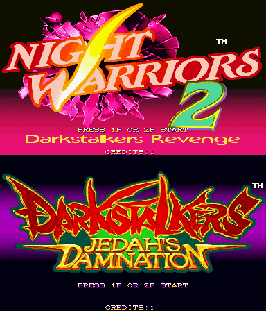 File:DarkStalkers Hack Title Screen.png