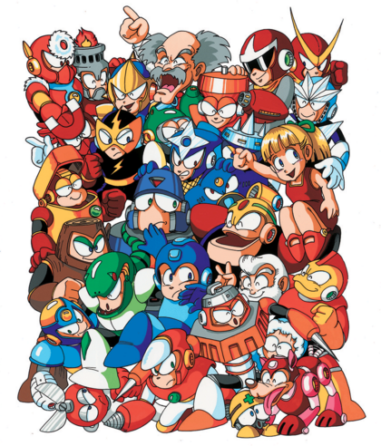 MM3 Robot Masters