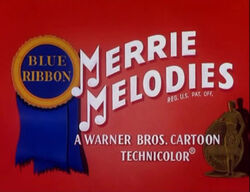 Merrie melodies blue ribbon