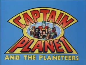 Captain planet title
