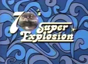 70's Super Explosion Logo