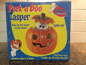 Gemmy 1998 Animated Peek A Boo Casper RARE