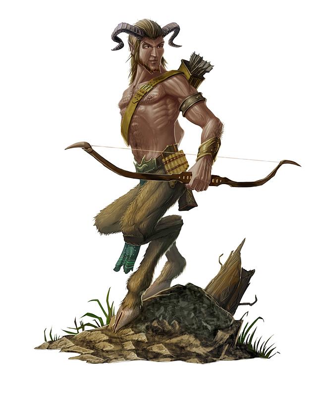 SATYRS - Greek Mythology Link