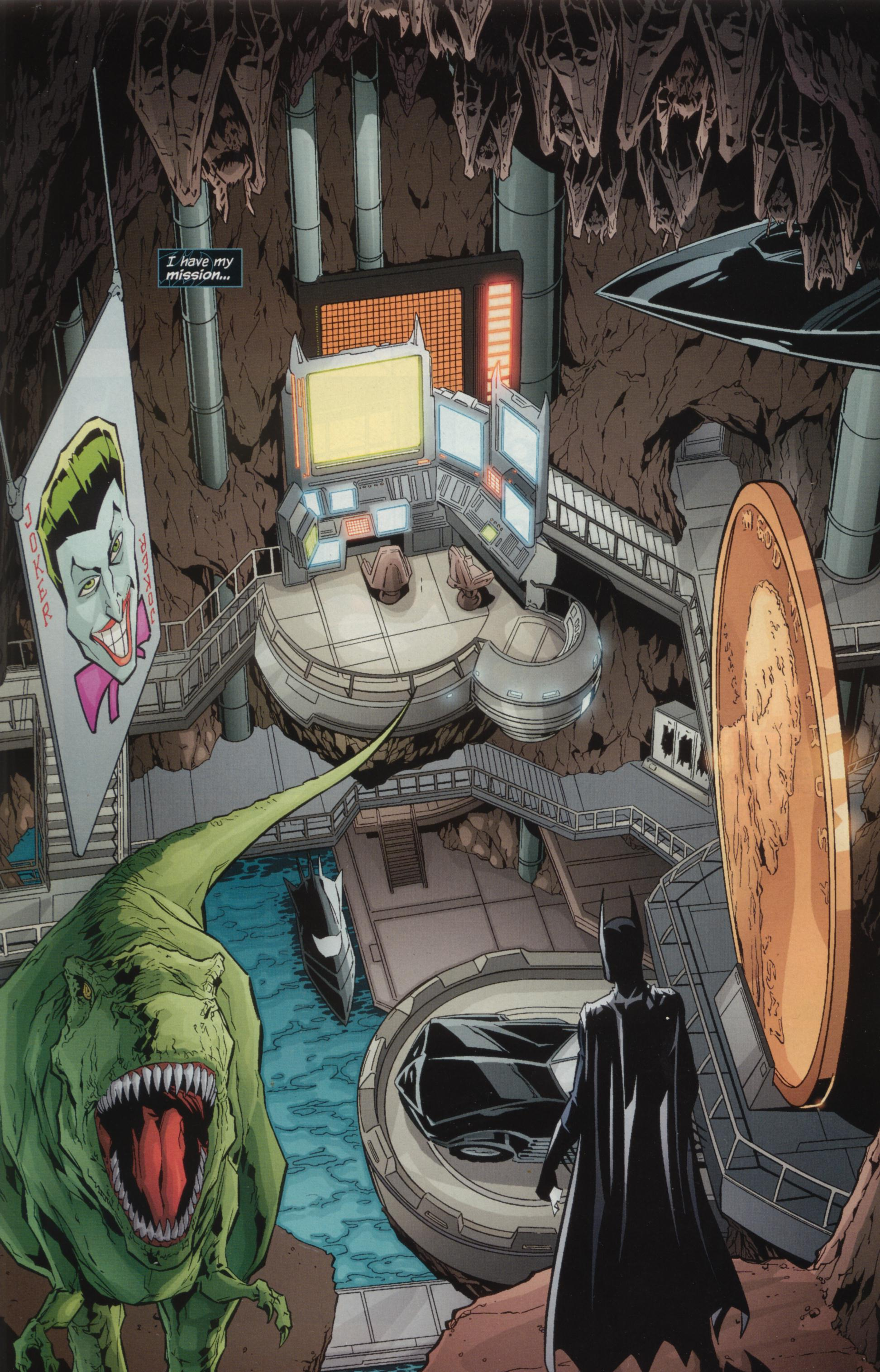 dc comics - Why is there a dinosaur in the Batcave? - Science ...