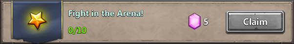 Fight in arena