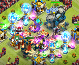 Magic Towers massive