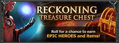 Reckoning chest ad