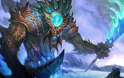 Monster leviathan deep large