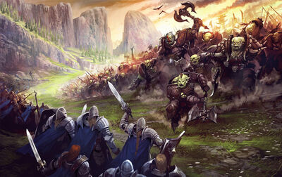 Monster orc invasion large
