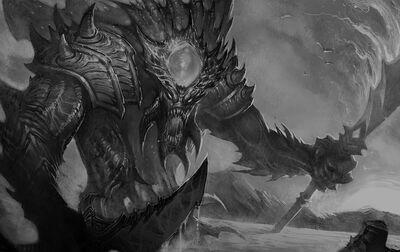 Monster leviathan deep dead